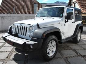 Jeep Wrangler Sport 4wd Automatico 2015 Descapotable Hermoso