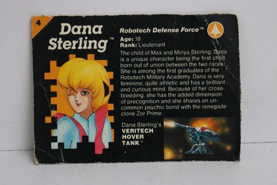 1986 Filecard Dana Sterling Robotech Matchbox