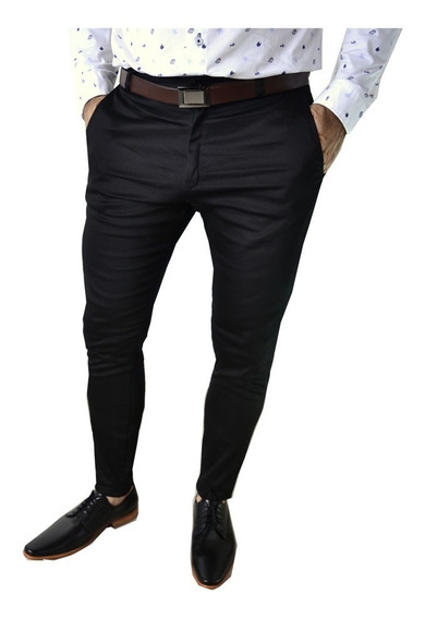 Pantalon De Vestir Chupin Corte Chino Hombre The Big Shop