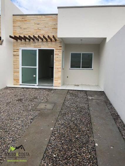 Casa Residencial À Venda, Cônego Raimundo Pinto, Maranguape. - Ca0186