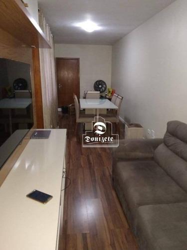 Apartamento Com 2 Dormitórios À Venda, 66 M² Por R$ 323.500,00 - Vila Humaitá - Santo André/sp - Ap15546