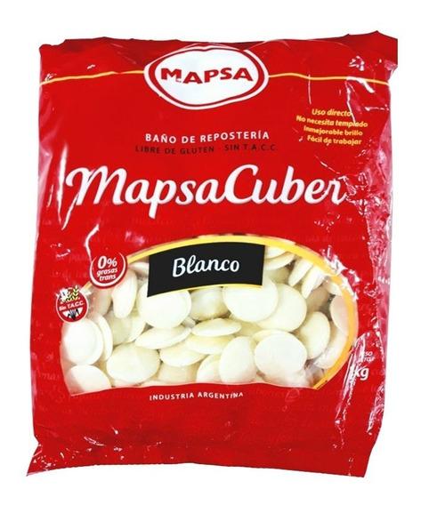 Chocolate Mapsa Blanco X 1 Kg - Ciudad Cotillón - Envíos