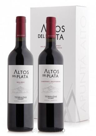 Vinos Terrazas De Los Andes Alto Del Plata Malbec En Caja