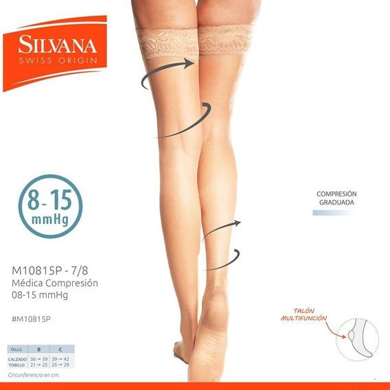 Medias 7/8 Medica Compresión 08-15 Silvana 10815
