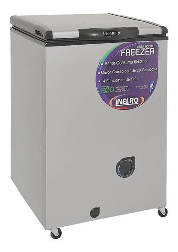 Freezer horizontal Inelro FIH-130 plata 135L 220V
