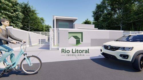 Casa À Venda, 61 M² Por R$ 230.000,00 - Extensão Serramar - Rio Das Ostras/rj - Ca1148