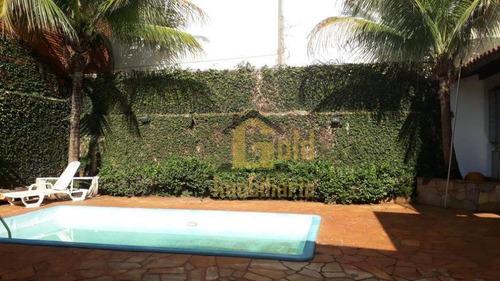 Casa Com 3 Dormitórios À Venda, 280 M² Por R$ 550.000,00 - Parque Industrial Lagoinha - Ribeirão Preto/sp - Ca1091