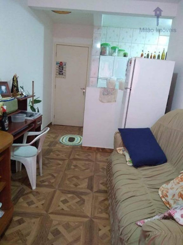 Apartamento 2 Dormitórios À Venda, 47m², Condomínio Parque Sicília, Pq. Campolim Votorantim/sp - Ap1178