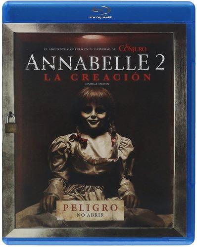 Annabelle 2: La Creación [blu-ray] Película Nuevo