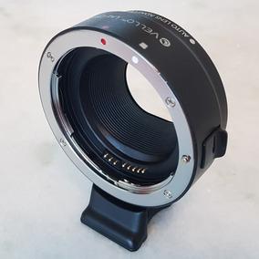 Adaptador P/ Canon Eos M Usar Lentes Eos