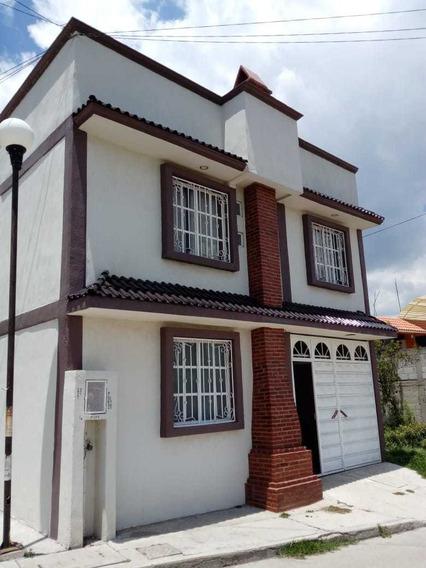 Casa Semi-residencial Cerca De La Plaza De Toros En Apizaco, Tlaxcala