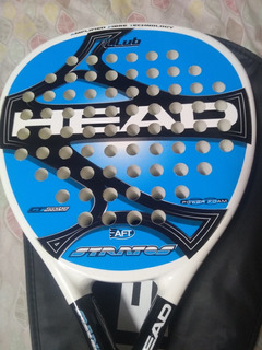 Paleta Padel Head Stratos Aft Condición Excelente Poco Uso