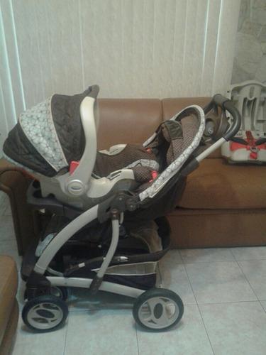 Coche Y Silla Porta Bebé Para Carro, Graco Edic Deluxe