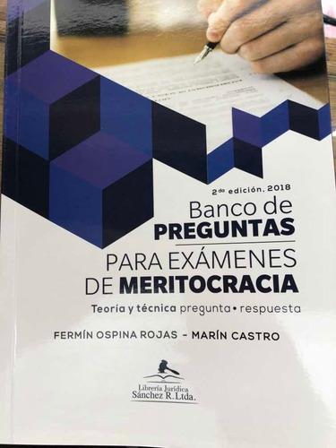Banco De Preguntas Para Exámenes De Meritocracia