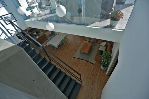 Penthouse De 2 Pisos, 274m2, En La Narvarte, Con Roof Garden