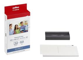 Kit Papel Fotográfico Para Impressora Selphy Canon Kp36ip