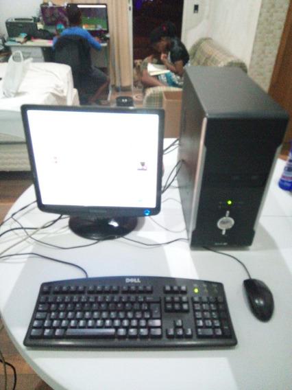 Computador Athlon 64 Torre Com Monitor Lcd Samsung De 17