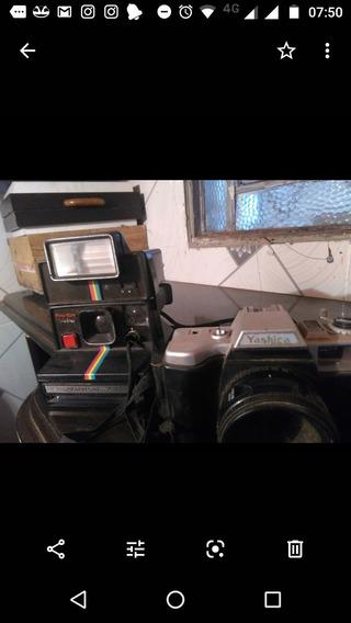 Maquina Fotografia Polaroide Em Bom Estado De Conservação