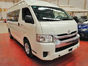 Toyota Hiace 15 Pas Std 5 Vel Ac 2017