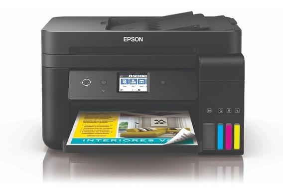 Impresora Multifuncion Epson L6191 Ecotank Doble Cara Red