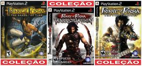 Prince Of Persia Ps2 Coleção (3 Dvds) Patch Principe
