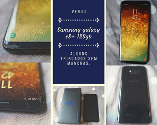 Samsung Galaxy S8 + Plus - 128gb