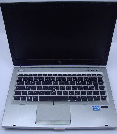 Notebook Hp Elitebook 8740 Core I5 3 Geração 8gb Hd500 Wi-fi