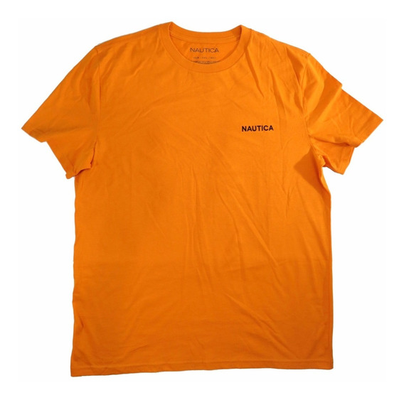 Combo C/ 2 Camisas Nautica Originais Camisa Vermelha/laranja