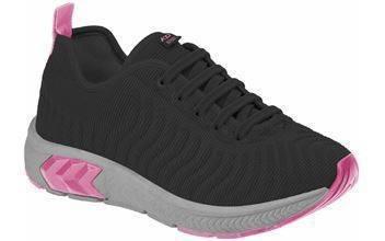 Tênis Feminino Infantil Kidy Sense Preto/pink 045-1036-0306