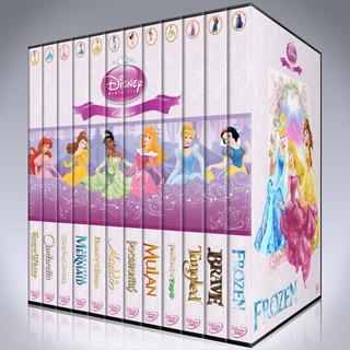 Princesa De Disney Coleccion Completa Dvd