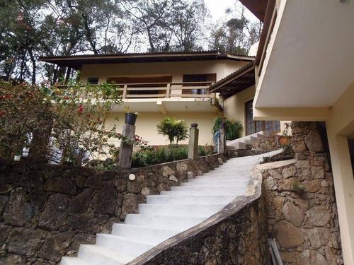 Sobrado Residencial À Venda, Alpes De Caieiras. - So0054