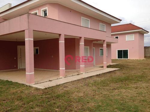 Belo Sobrado Com 5 Dormitórios À Venda, 400 M² Por R$ 1.200.000 - Condomínio Vivendas Do Lago - Sorocaba/sp - So0336