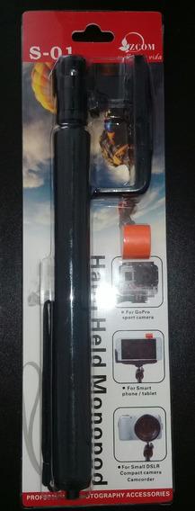 Bastão De Selfie Universal iPhone Smartphone E Gopro+brinde