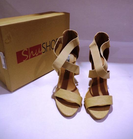Calzado Damas Marca Shu Shop, Talla 37