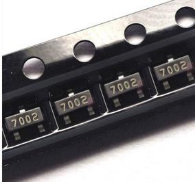 10 Unid. Transistor 2n7002 7002 2n7002lt1g Canal N 60v 300ma