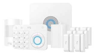 Sistema Alarma Seguridad Smart Ring 10pz Inalambrico Wifi