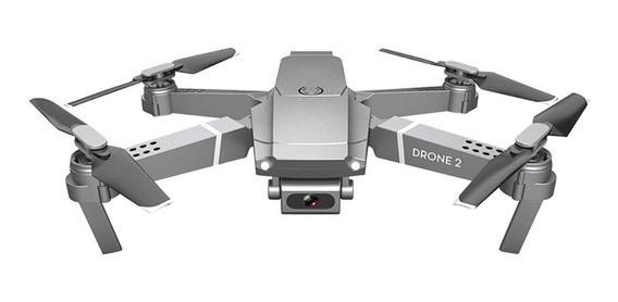 Drone E68 Com Câmera Wifi 720p Hd