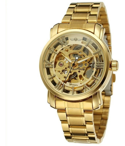 Relógio Winner,automático E A Corda, Feminino,modelo 341