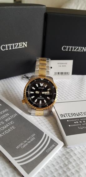 Relógio Citizen Promaster Automático Diver S 200m Ny0094-85e