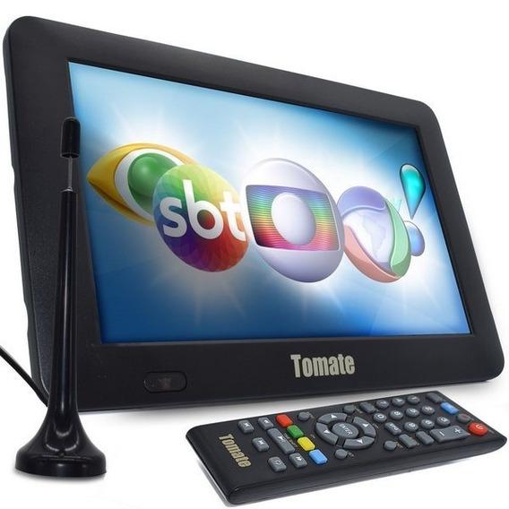 Tv Digital Tela Monitor 9 Polegadas Portatil Tomate Mtm 707