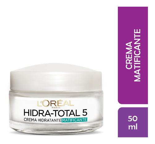 Imagen 1 de 5 de Crema Hidratante Piel Mixta Hidra Total5 Loreal 50ml