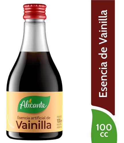 Alicante Esencia Artificial De Vainilla Liquida X 100 Cc