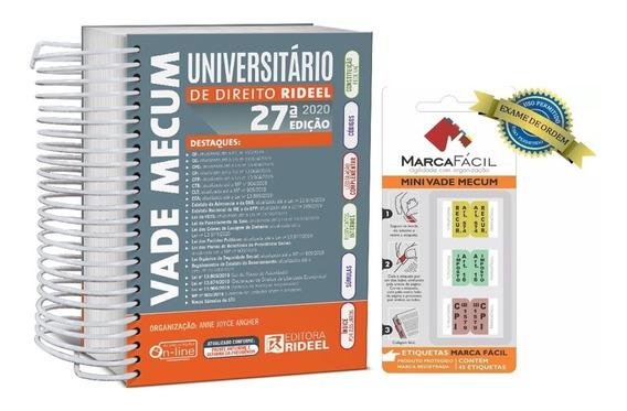 Vade Mecum Universitário De Direito + Etiquetas Marca Fácil