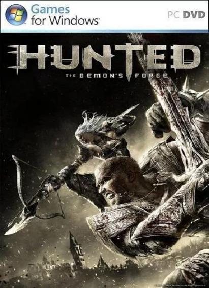 Pc : Hunted The Demons Forge - Original Midia Física Lacrado