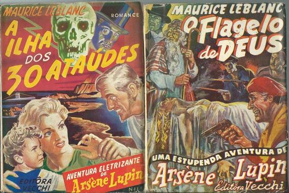 Maurice Leblanc / Arsène Lupin - Lote Com 11 Livros