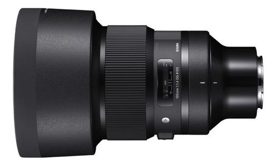 Sigma 105mm 1.4 Art Para Sony Emount Na Caixa