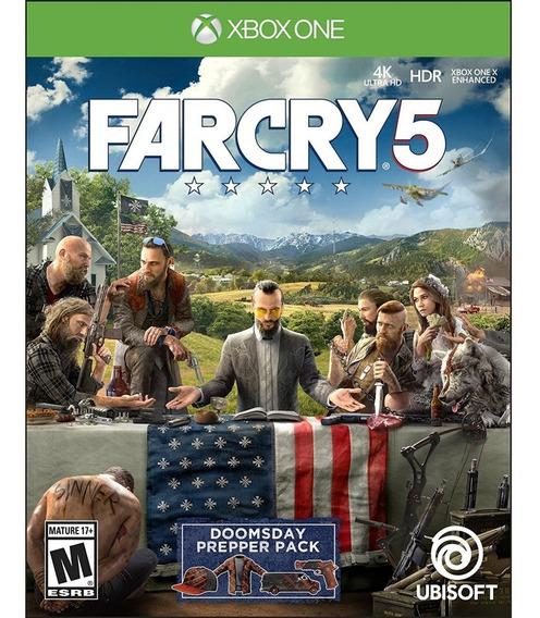 Far Cry 5 Xbox One Mídia Física Lacrado Original Novo