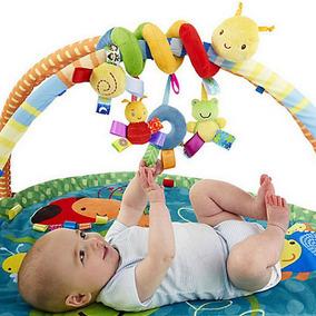 Chocalho Mobile Bebê Centopeia Espiral Multiuso