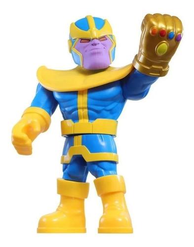 Imagem 1 de 2 de Boneco Marvel Super Heroe Adventures Mega Mighties Thanos