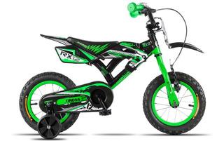 Bici-moto Cross Aurora Rodado 12
